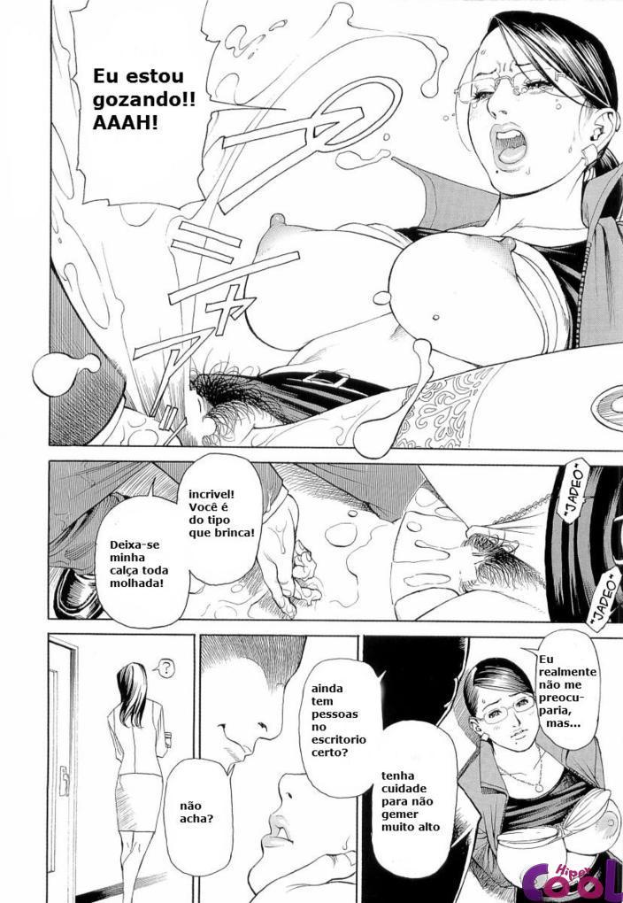 Hentai escrava sexual dos amigos de trabalho