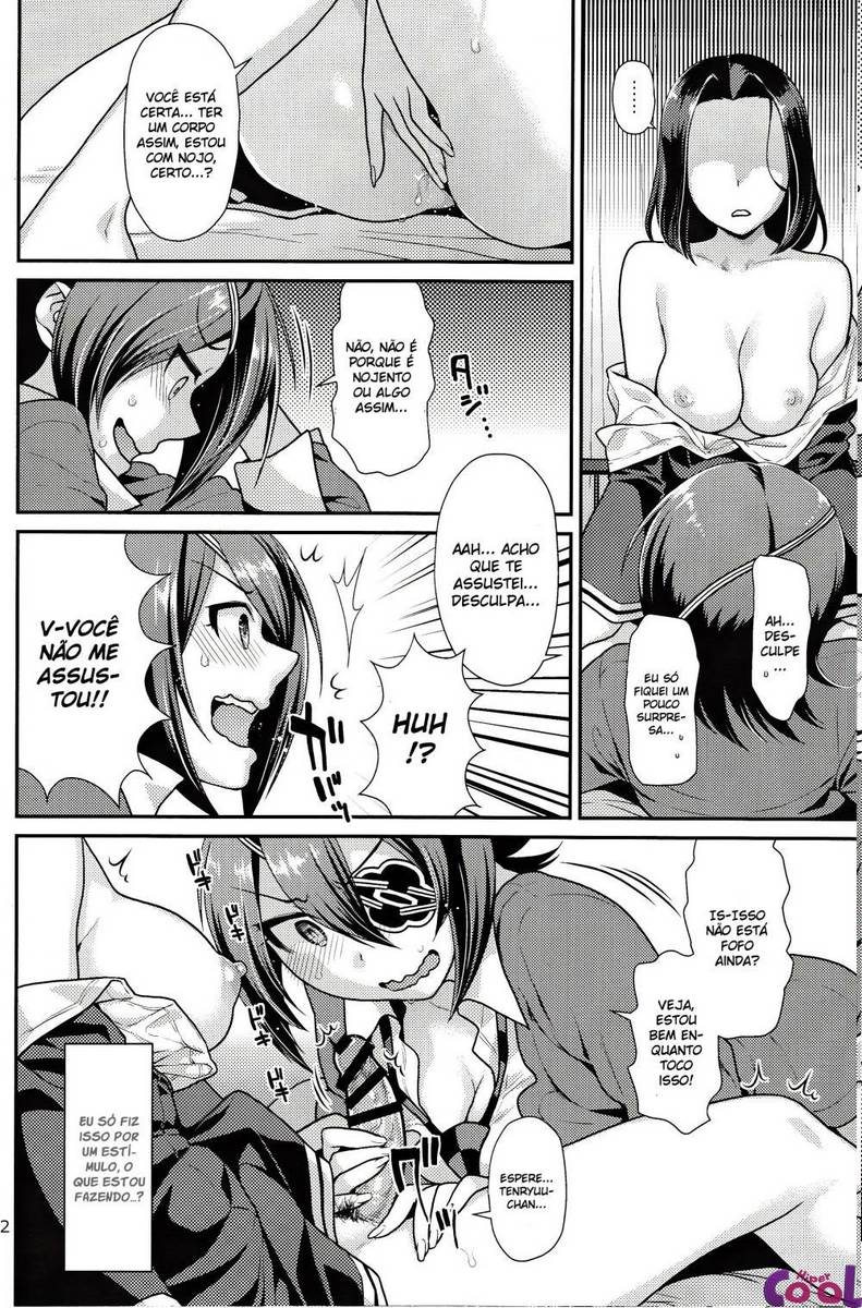 Hentai futanari comendo sua amiga