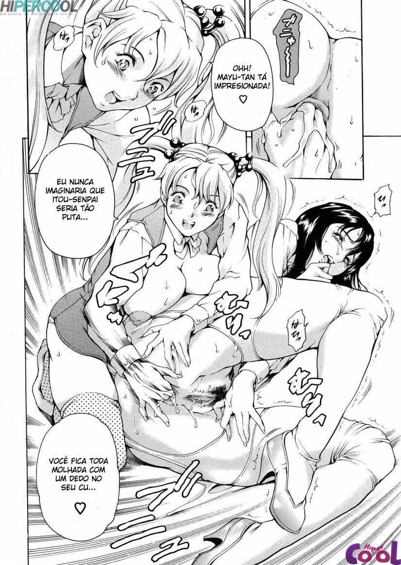 Hentai Secretárias loucas por sexo 2