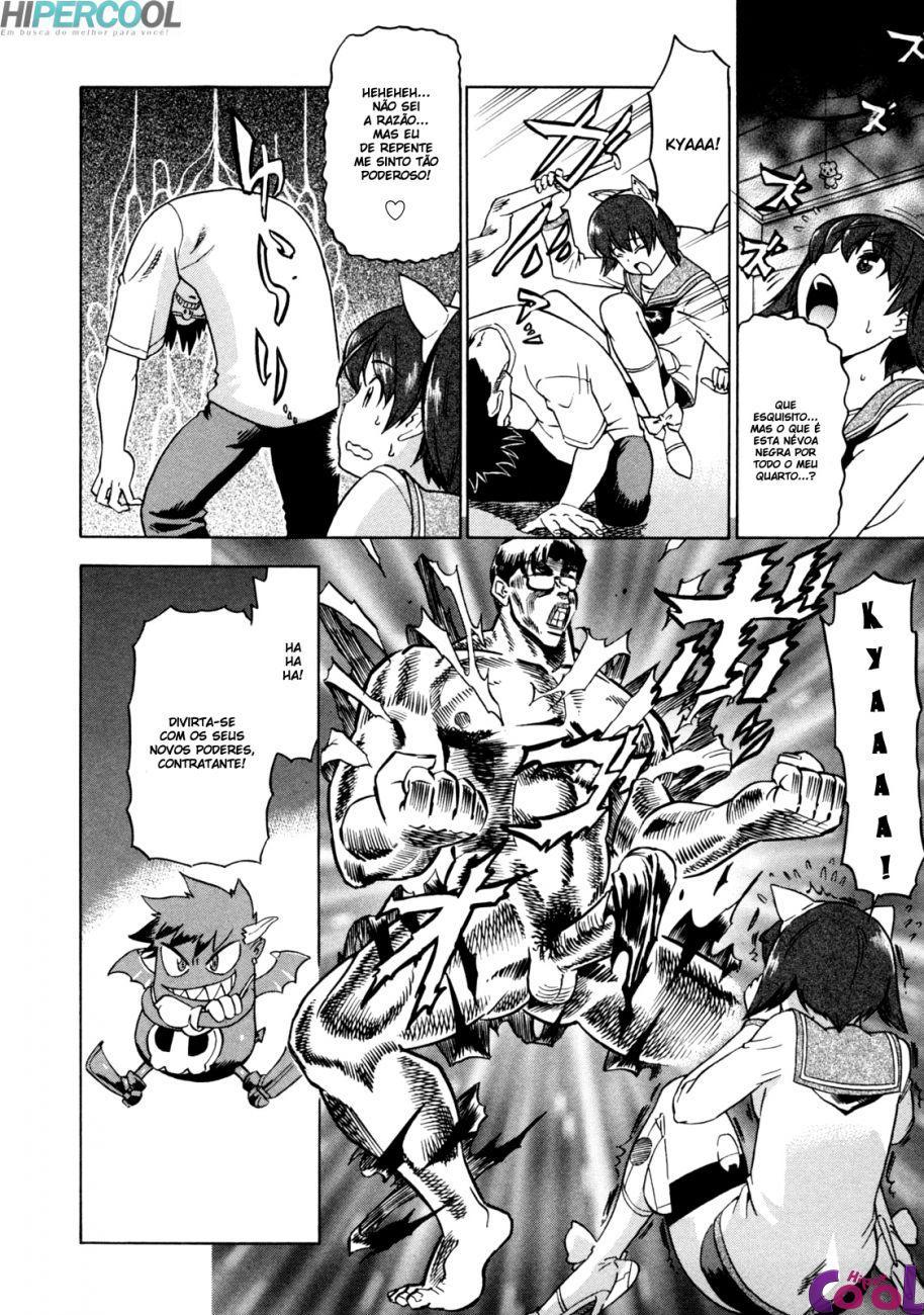 Hentai Fazendo o pacto com o demônio