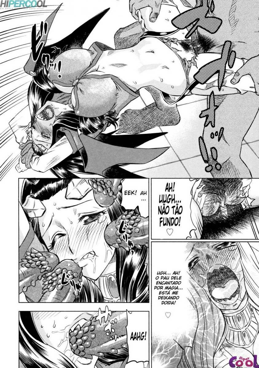Hentai Devil time o confronto final clube da putaria hentai