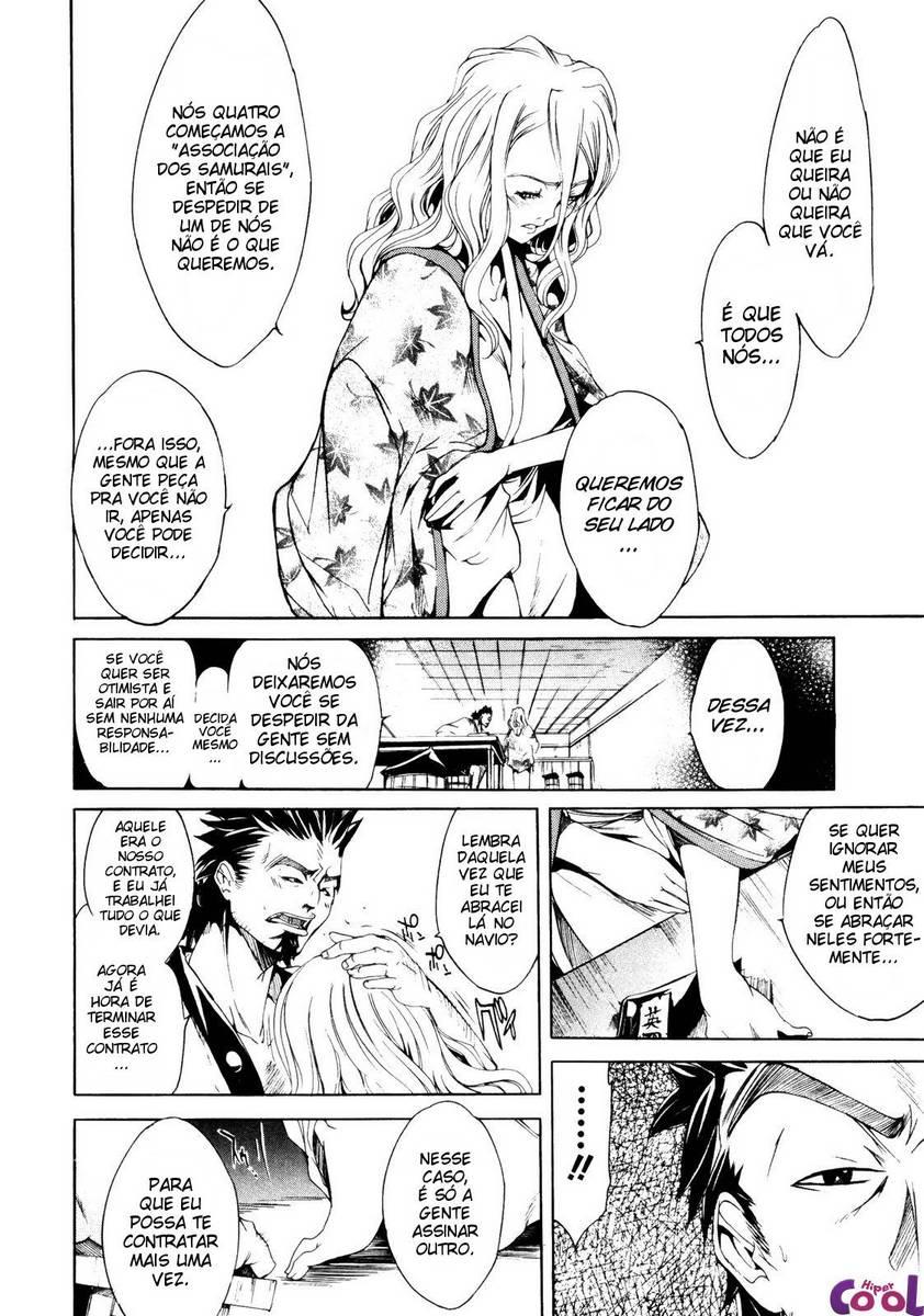 samurais e muita putaria