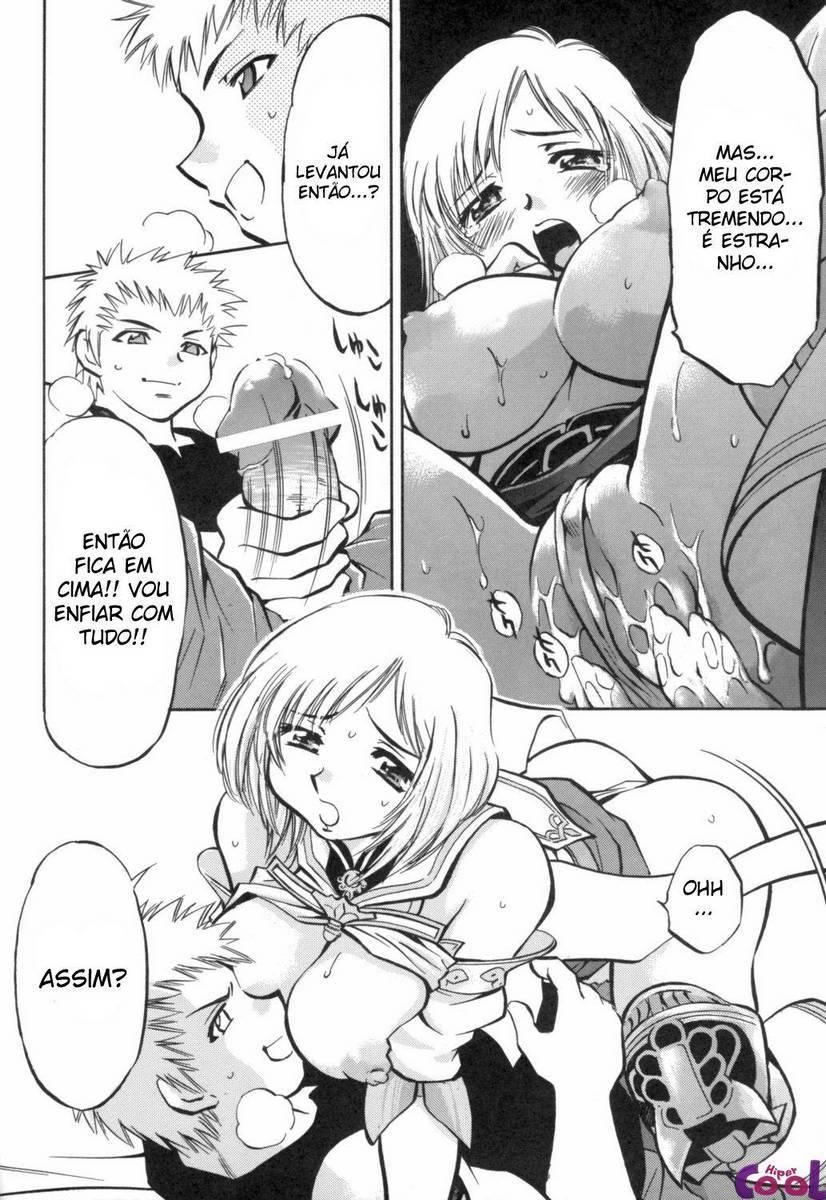 Comendo o cu da princesa hentai