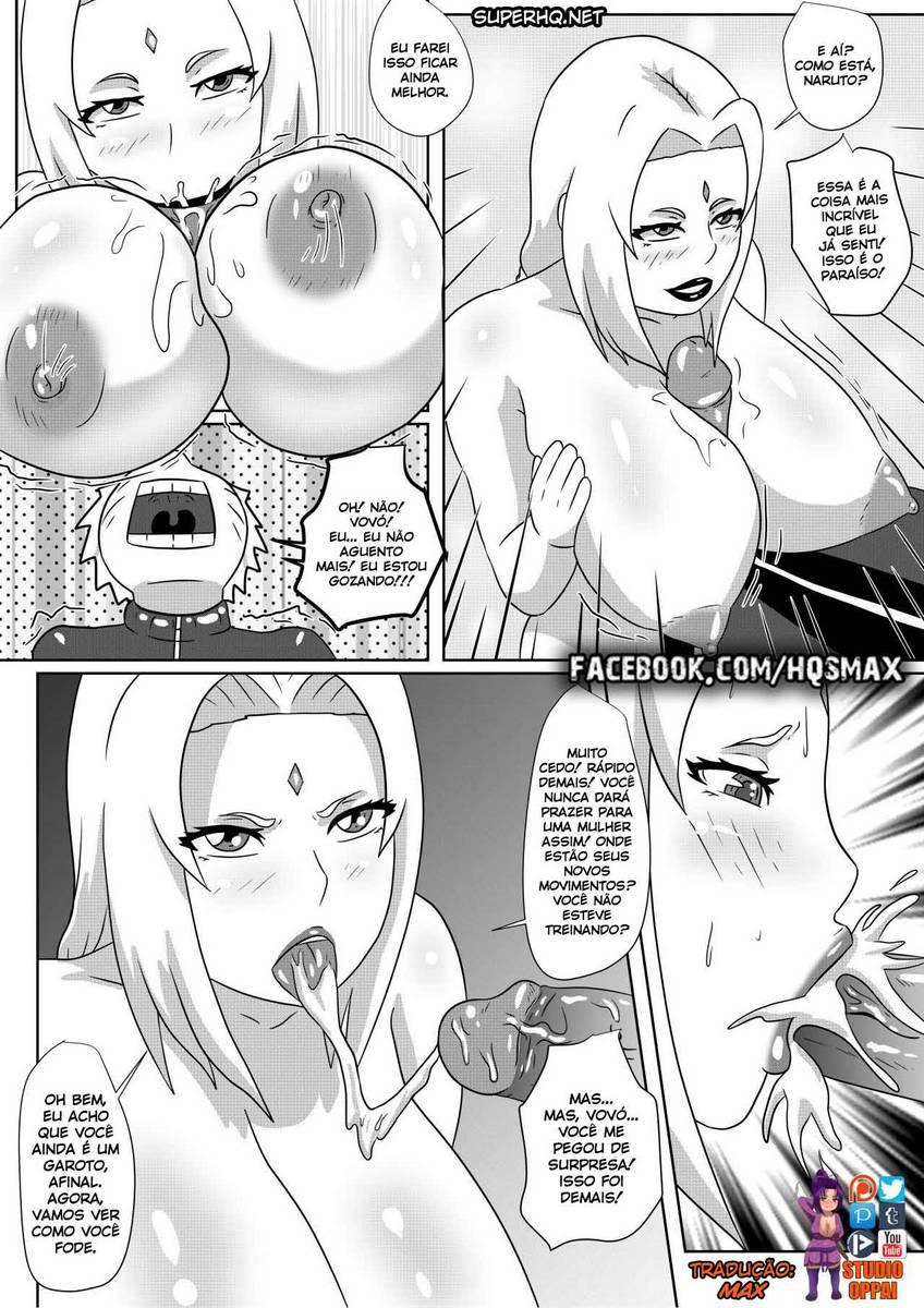 Naruto X Tsunade hentai