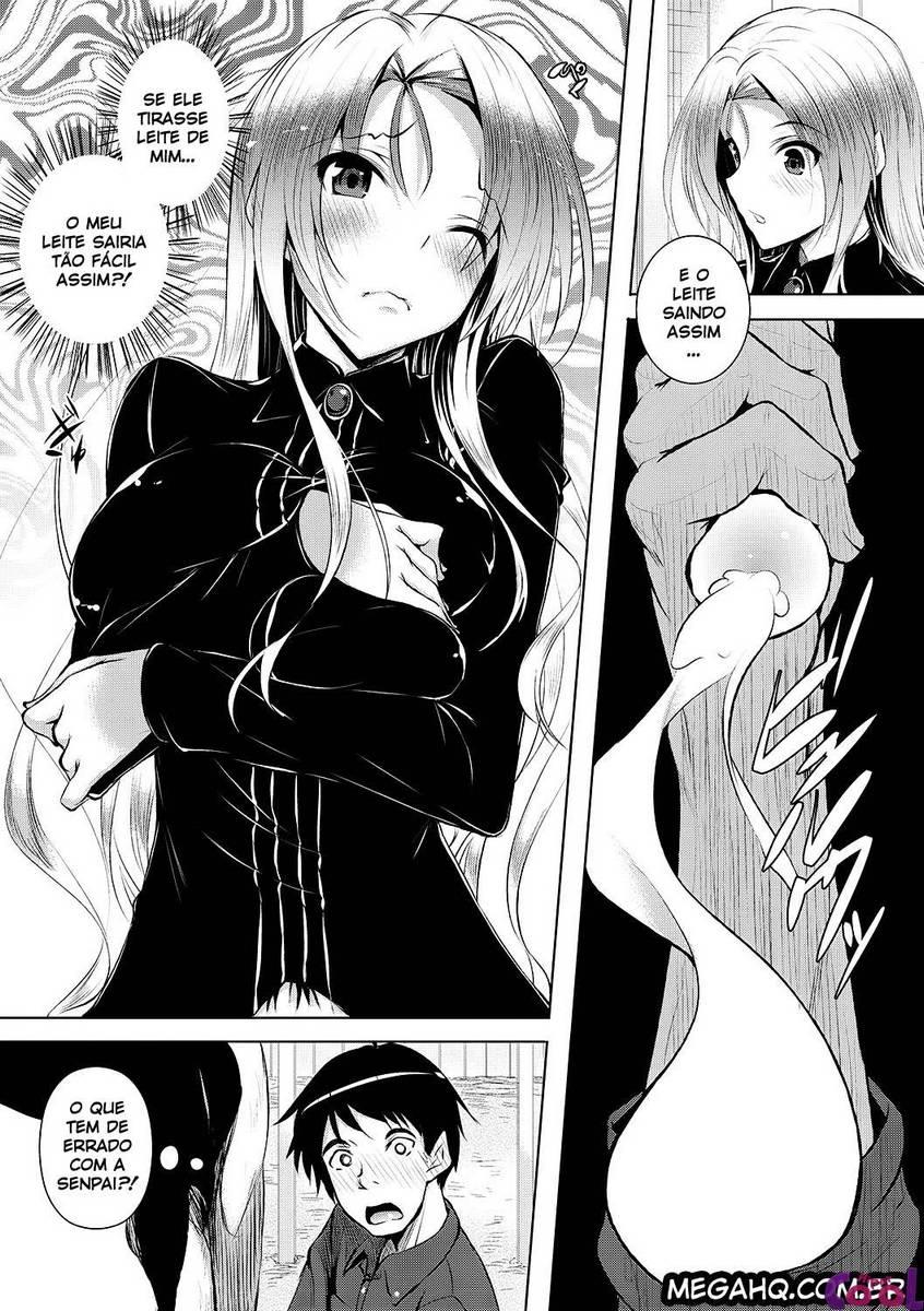 Tirando leite da novinha hentai