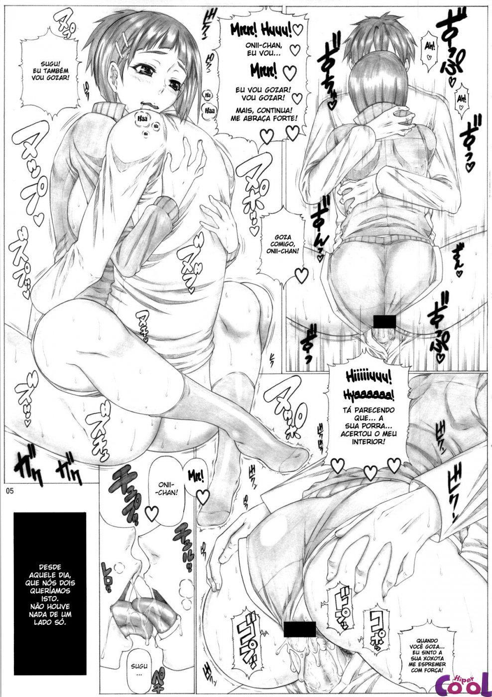 Transando com irmã no pelinho hentai