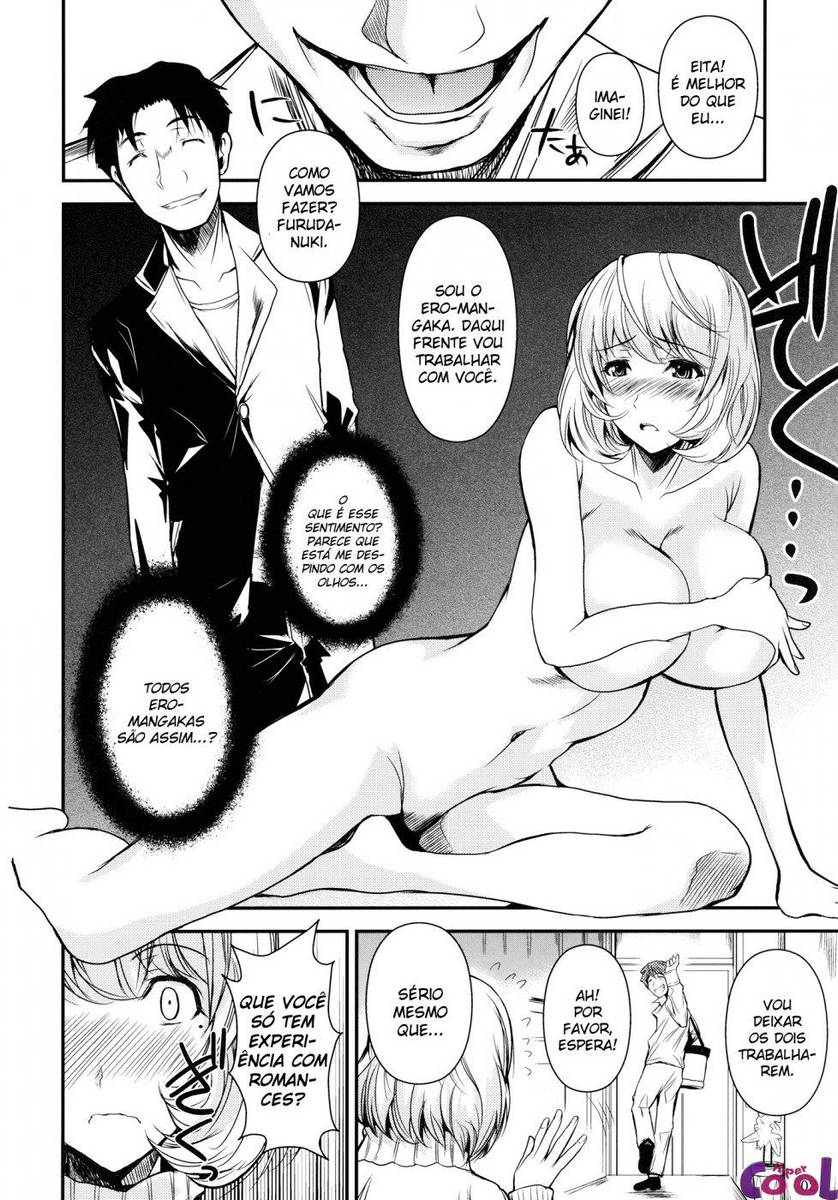 A nova estrela pornô do hentai