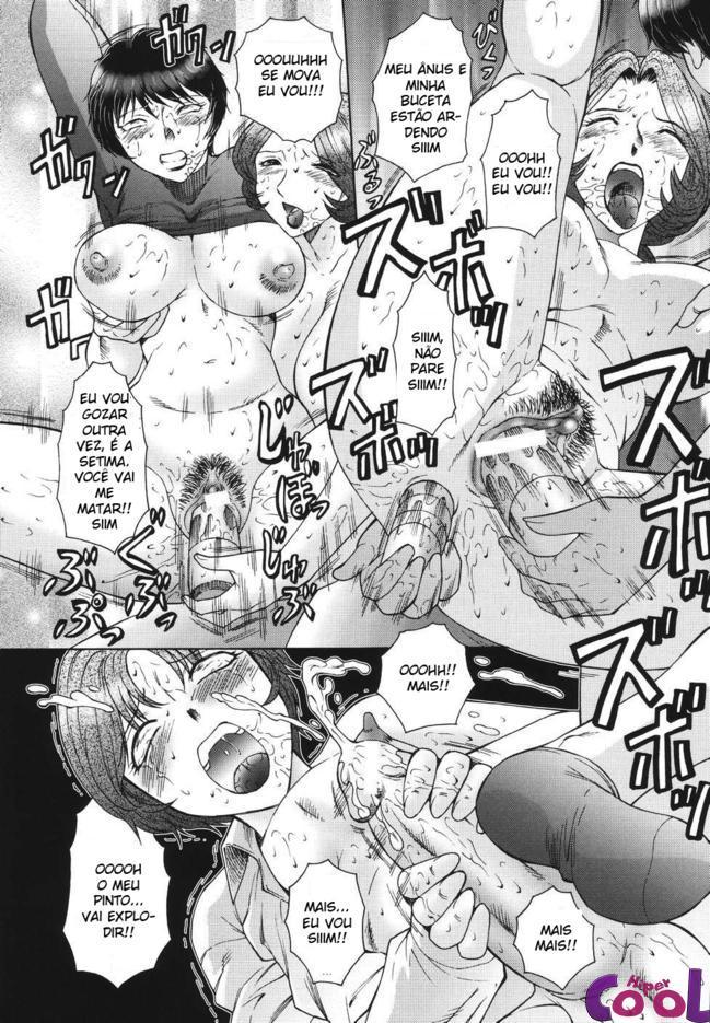 Aula de sexo com professorinha hentai