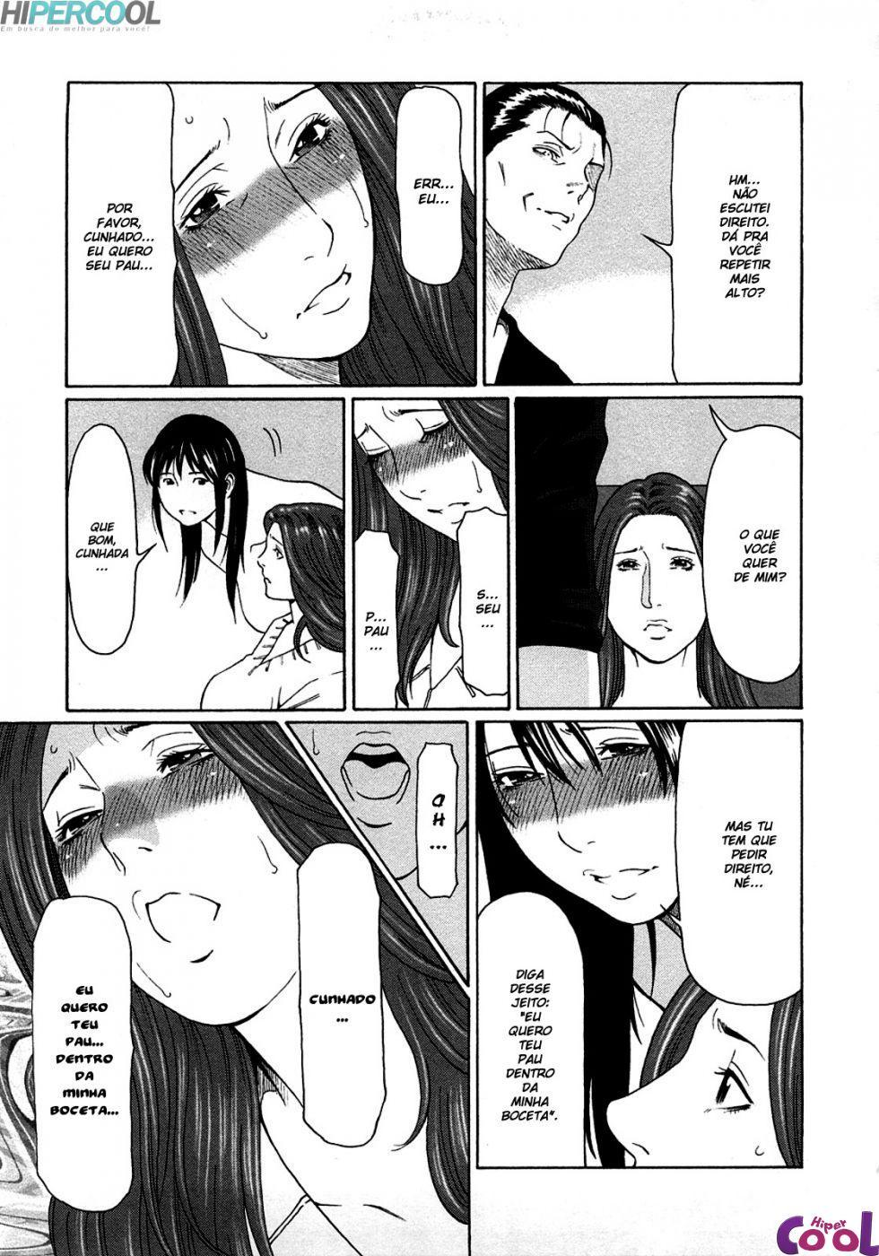 Etsuraku no Tobira 5, esposa quer pau