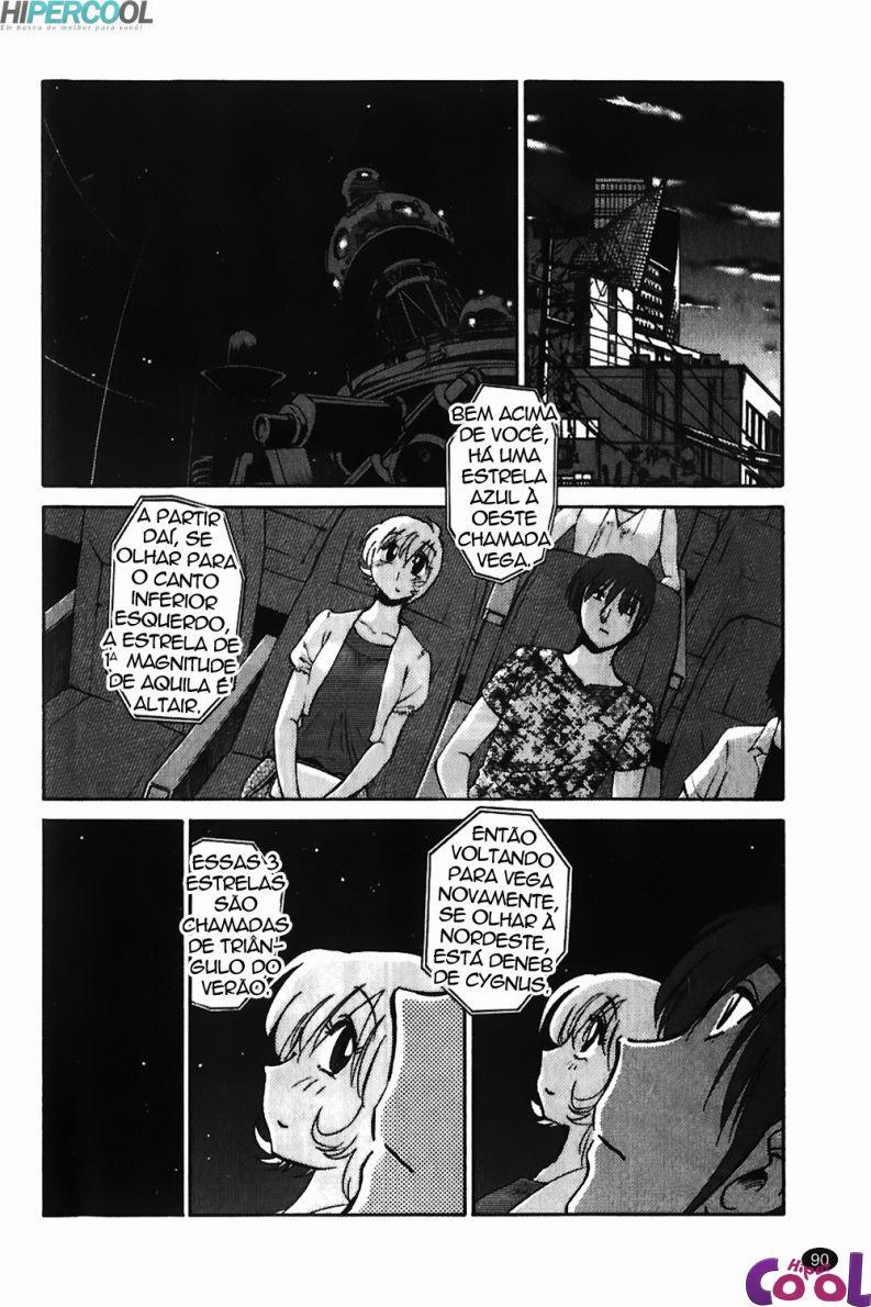 Noite quente e estranha