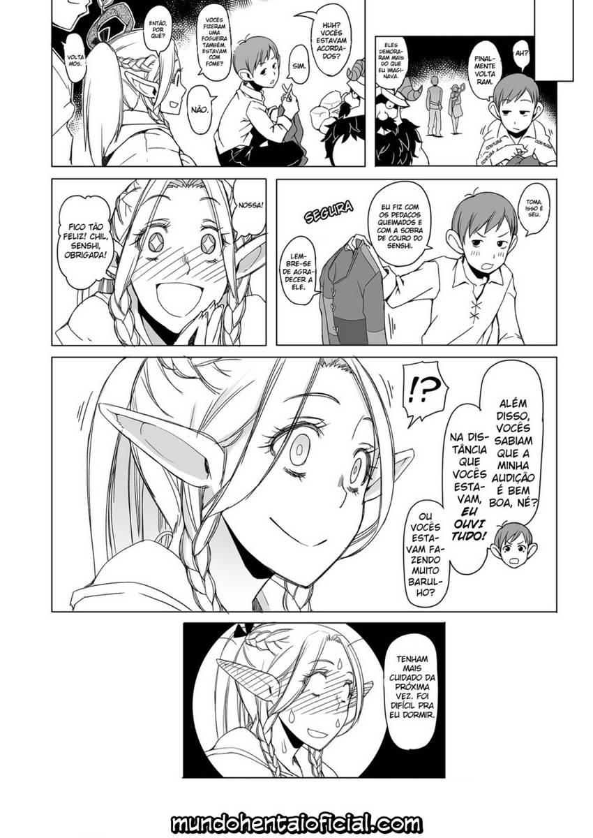 Pau na bucetinha da elfa