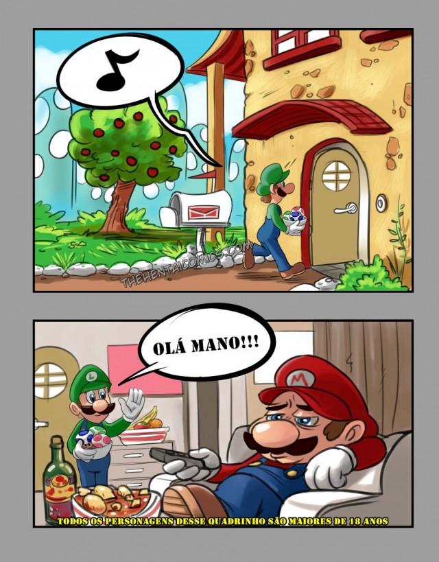 Super Mario XxXx