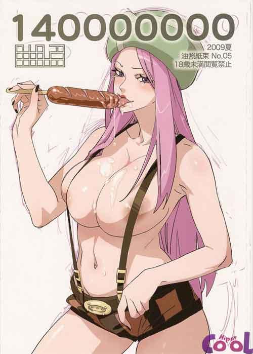 One Piece hentai com muito sexo e putaria