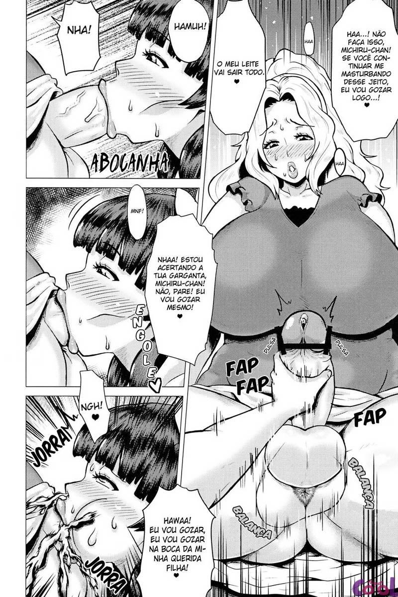 Mãe e filha fodendo o cu da outra