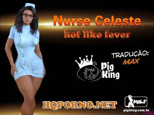Nurse Celeste Hot Like Forever